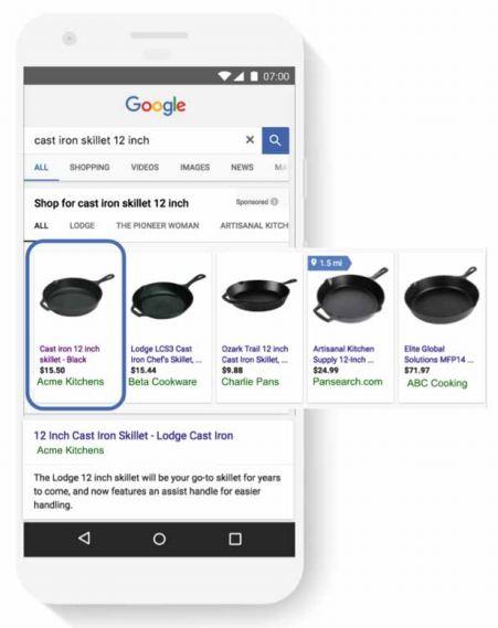 shopping google