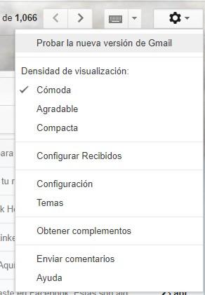 Nuevo Gmail 1