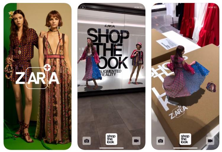 Zara AR: así funciona la app que llevará a partir de mañana la realidad aumentada a 130 tiendas Zara