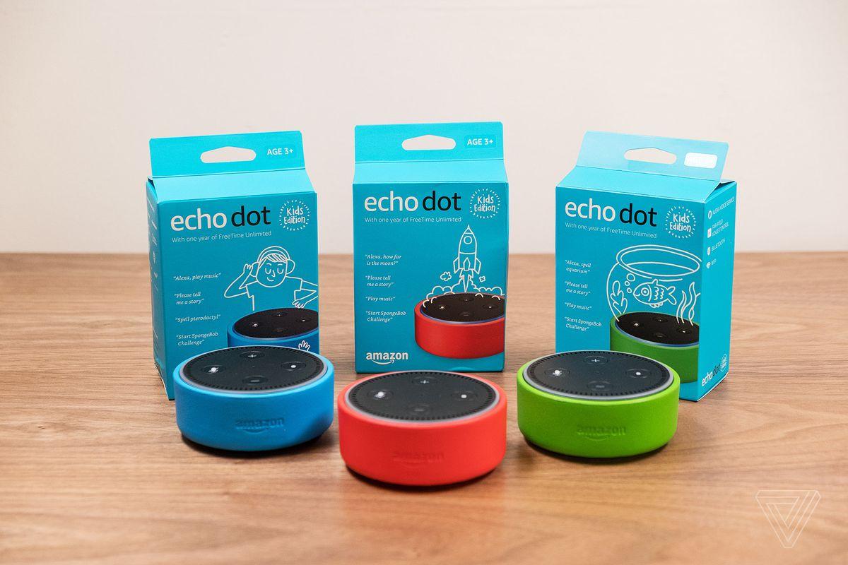 Echo Dot Kids Edition: Amazon lanza su asistente por voz adaptado para uso infantil