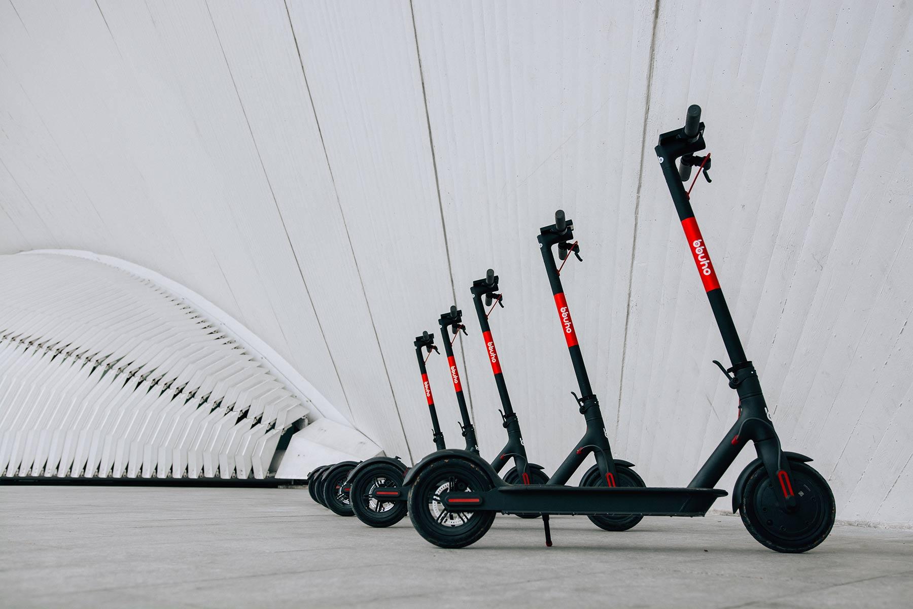 Patinetes eléctricos, el scooter sharing que viene pegando fuerte de Estados Unidos