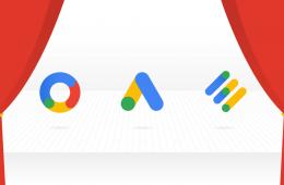 Logos de Google Ads, Google Marketing Platform y Google Ad Manager