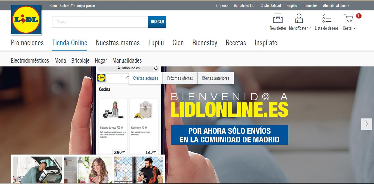 Ya puedes comprar en el nuevo Lidl online (si vives en Madrid): así funciona el esperado eCommerce del gigante alemán
