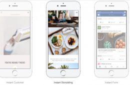 Facebook reinventa Canvas: así son sus nuevas Instant Experiences