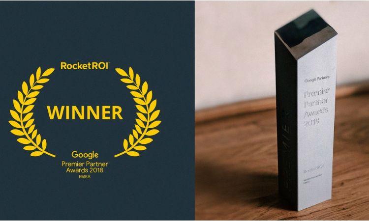 RocketROI: primera agencia española en ganar un Google Premier Partner Awards