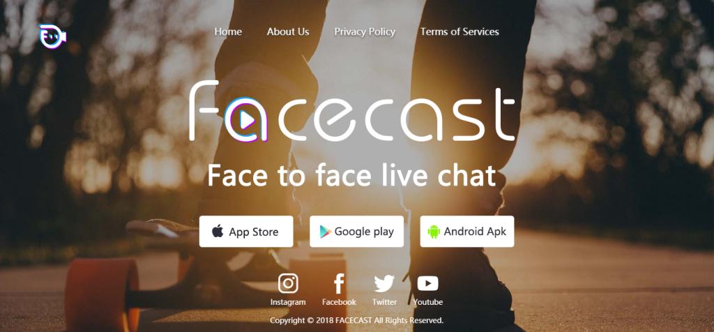 facecast nuevas redes sociales