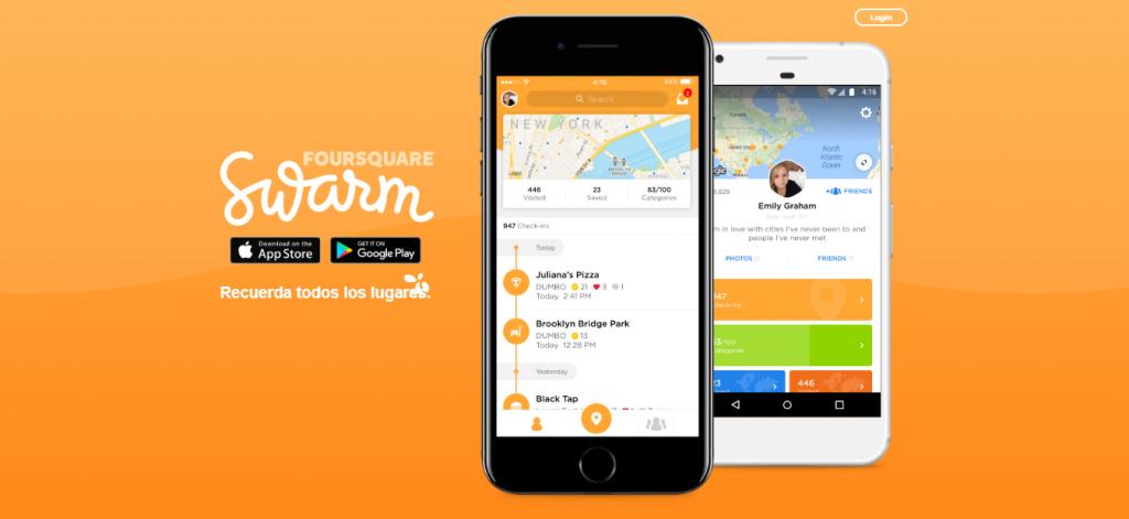 swarm nuevas redes sociales