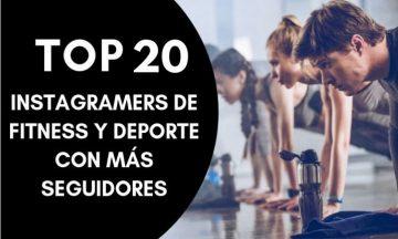 Top 10: los instagramers de fitness y deporte con más seguidores (Metricool, 2019)