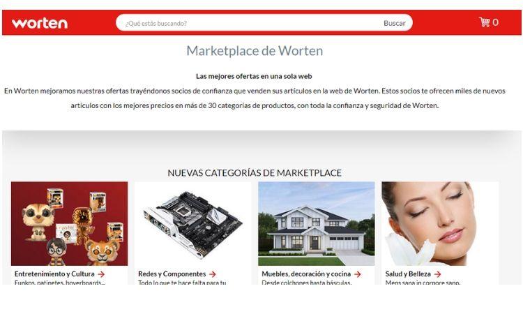 Worten se lanza al mundo de los marketplaces
