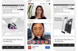 Google apuesta por las experiencias inmersivas con la creación de ads en 3D y la realidad aumentada en YouTube