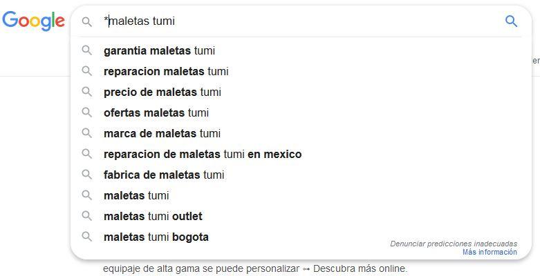 palabras clave buscar google
