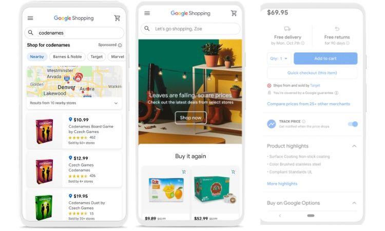 Google Shopping nuevo eCommerce