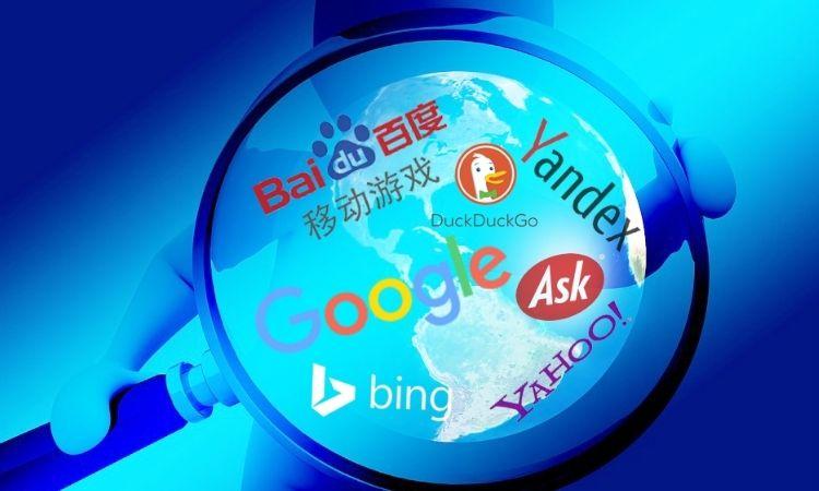 buscadores más utilizados del mundo