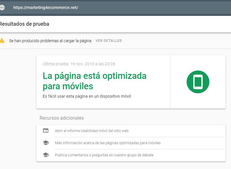 algoritmo google mobile friendly