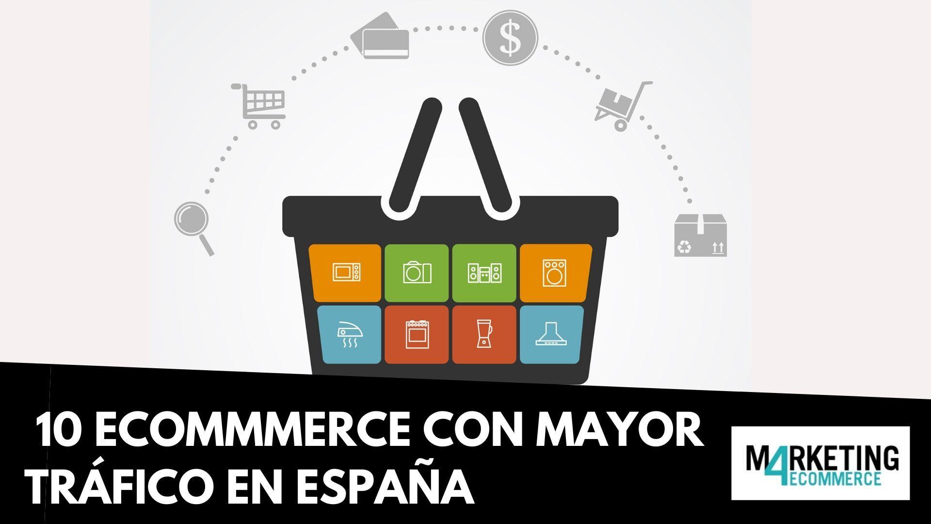 Top 10: los eCommerce con más tráfico en España (2019)