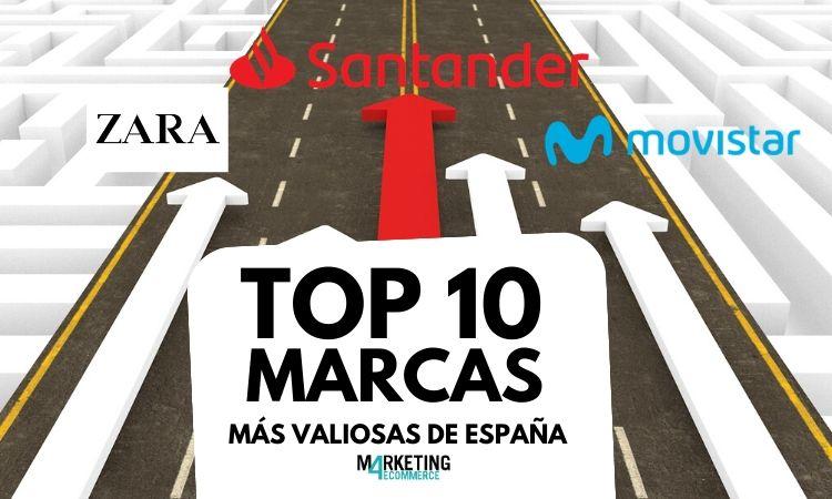 MARCAS MÁS VALIOSAS DE ESPAÑA