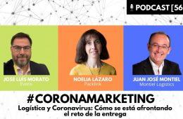 PODCAST coronamarketing logistica