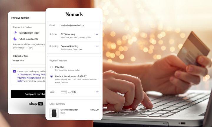 Pronto podrás fraccionar los pagos con Shopify Installments