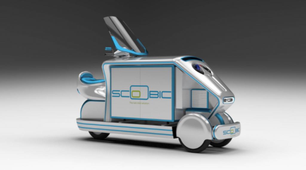 Vehiculo scoobic