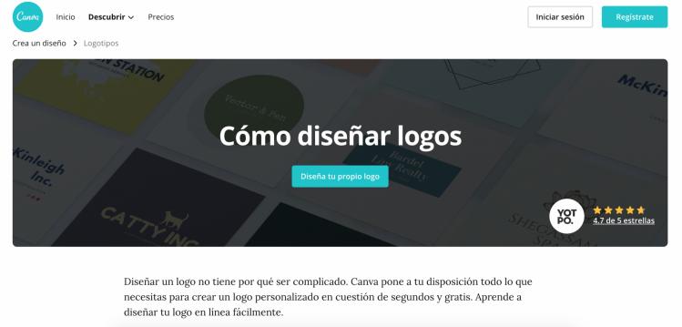 webs para diseñar logos