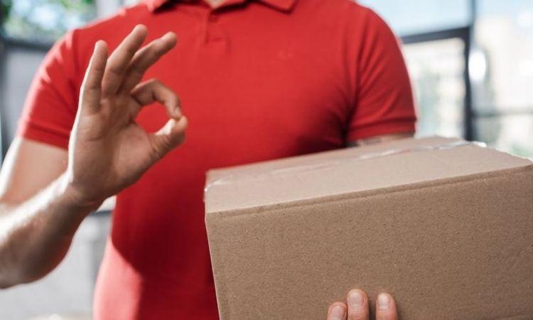 logística envío paquete