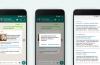 WhatsApp introduce la búsqueda en Google desde la app para evitar la difusión de bulos