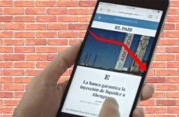 Así perjudica el muro de pago al SEO de El País: ha perdido el 34% de sus Top 3 keywords
