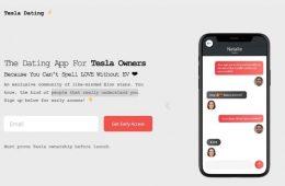 Tesla prepara una app de dating exclusiva para sus usuarios
