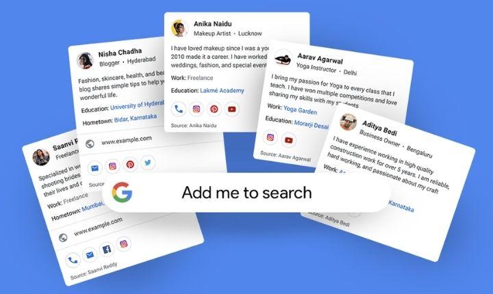 Tu tarjeta personal, en los resultados de búsqueda: la nueva idea de Google para liderar el personal branding