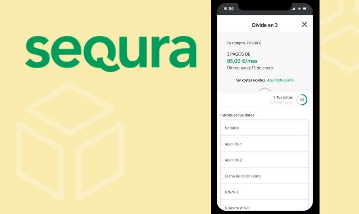 SeQura lanza divide en tres, un nuevo servicio de fraccionamiento de pagos online sin intereses