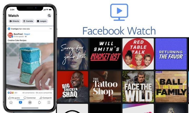 Facebook Watch cumple 2 años de vida alcanzando los 1.250 millones de usuarios mensuales