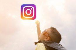 menores en instagram