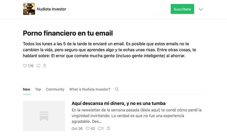 newsletter sobre finanzas