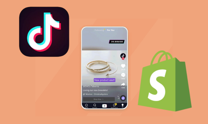 Shopify se alía con TikTok para impulsar las campañas de eCommerces en esta red social