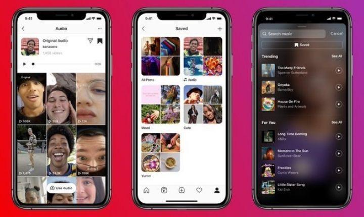 Instagram refuerza su apuesta contra TikTok con nuevas opciones de audio en Reels