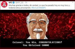 Twitter se vuelca con el CM de KFC: así logró 80.000 seguidores en menos de 3 horas