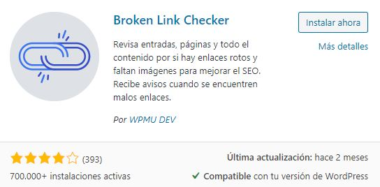 plugin broken link checker