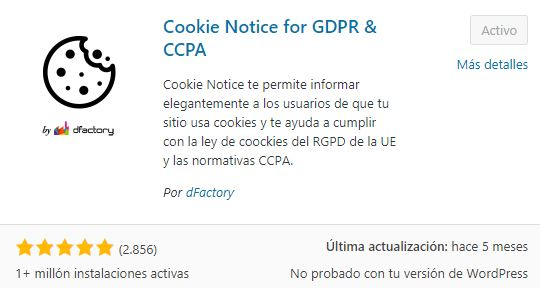 plugin cookie notice