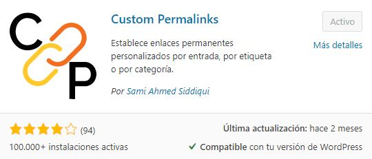 plugin custom permalinks