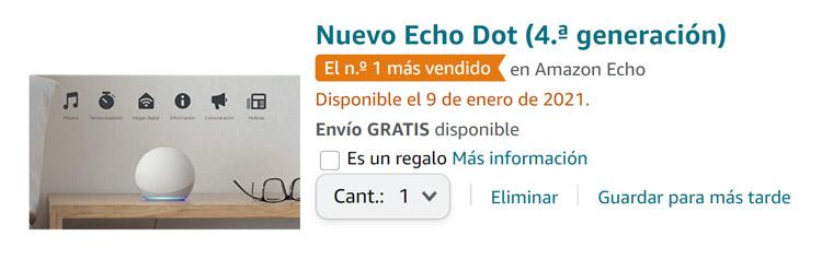 Cesta de la compra de Amazon