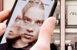 Las ventas online de Inditex crecen un 75% anual y ya suponen el 30% del total