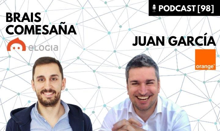 Brais Comesaña Elogia y Juan García Orange