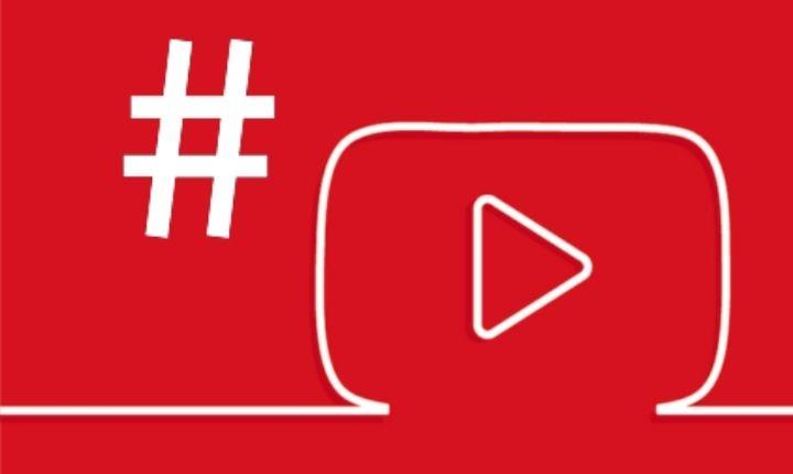 páginas de hashtag en YouTube