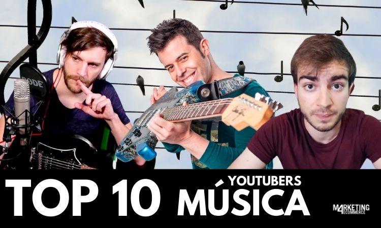 youtubers música