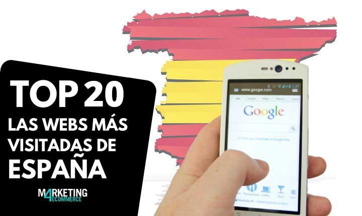 webs mas visitadas de España