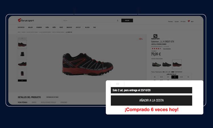 personalización Forum Sport