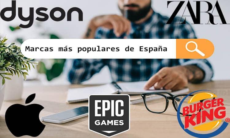 MArcas más populares en España