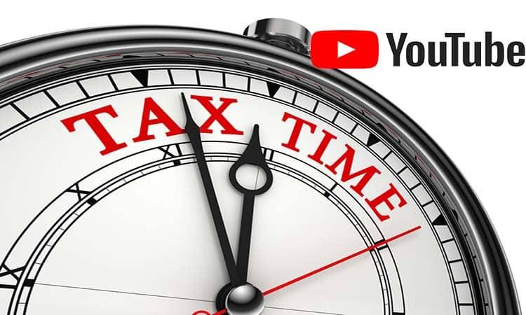 YouTube comenzará a cobrar impuestos a sus creadores de contenido fuera de los Estados Unidos