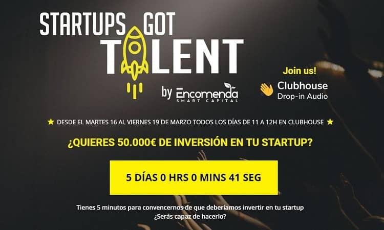 Starups got talent, la propuesta de inversión de Encomenda