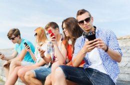 redes sociales adolescentes